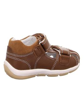 Sandalia niño marron doble velcro Superfit